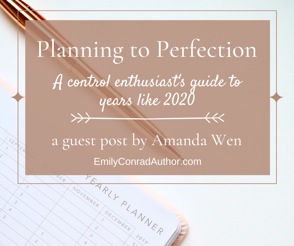 Planning to Perfection: A control enthusiast's guide to years like 2020